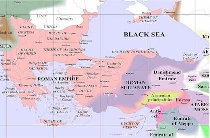 Byzantine Influeance 1100