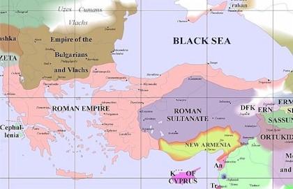 Byzantine Influeance 1200