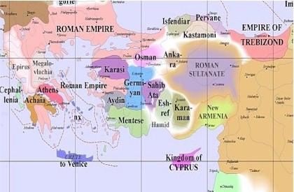Byzantine Influeance 1300