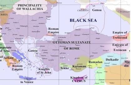 Byzantine Influeance 1400